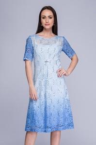 7b70f84152 błękitna sukienka jakie dodatki - stylowo i modnie z Allani