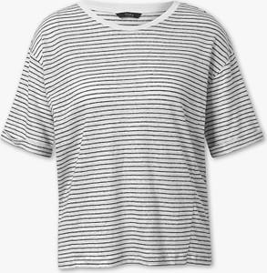 T-shirt Yessica Premium w stylu casual z płótna