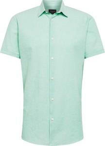 Koszula Selected Homme z krótkim rękawem z bawełny
