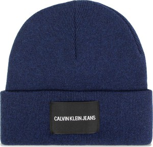 Niebieska czapka Calvin Klein