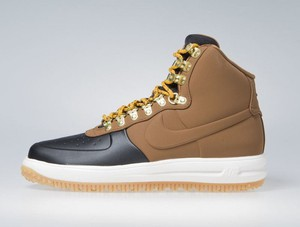 Sneakers buty Nike Lunar Force 1 Duckboot '18 black / lt british tan-phantom (BQ7930-001)