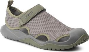 Buty letnie męskie Crocs na rzepy