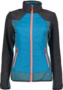 Niebieska kurtka Icepeak z plaru w sportowym stylu