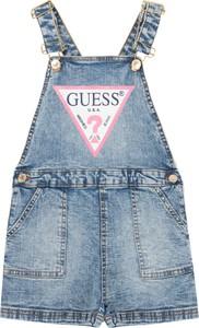 Niebieskie spodnie dziecięce Guess