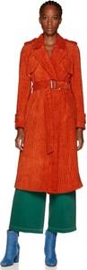 Czerwony płaszcz United Colors Of Benetton w stylu casual