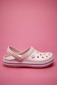 Różowe buty letnie męskie Crocs
