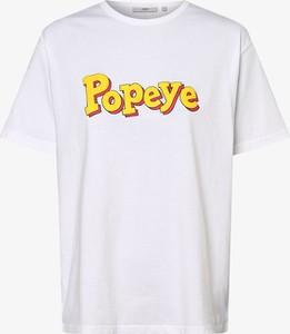 T-shirt Minimum w młodzieżowym stylu z okrągłym dekoltem