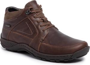 Buty zimowe Josef Seibel sznurowane