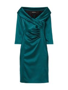 Sukienka Marie Noir w stylu casual z dekoltem w kształcie litery v mini