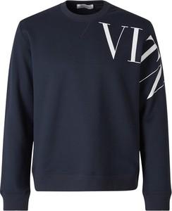 Bluza Valentino z bawełny z nadrukiem