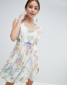 Sukienka Asos z odkrytymi ramionami w stylu boho
