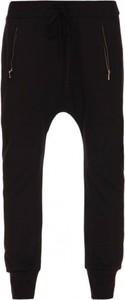 Czarne spodnie Yuliya Babich z dresówki w sportowym stylu