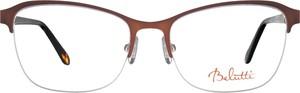 Brązowe okulary damskie Belutti