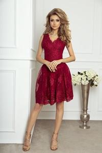 Sukienka imesia.pl z dekoltem w kształcie litery v
