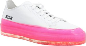 Sneakersy MSGM z płaską podeszwą sznurowane