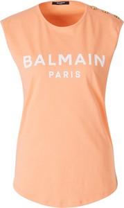 T-shirt Balmain z bawełny