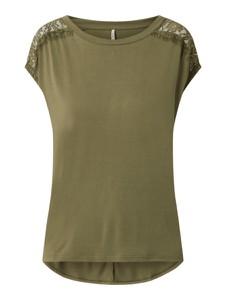 Zielona bluzka Only w stylu casual