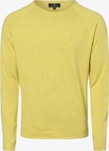 Żółty sweter Nils Sundström z dzianiny