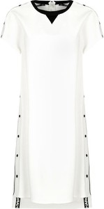 Sukienka Karl Lagerfeld mini z krótkim rękawem