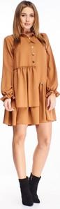 Sukienka N/A mini w stylu casual z długim rękawem