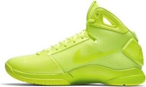 Buty sportowe Nike w sportowym stylu hyperdunk sznurowane