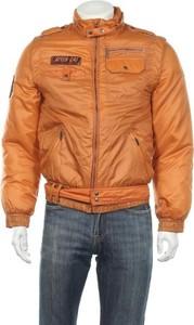 Pomarańczowa kurtka Puma w stylu casual krótka