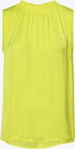 Żółta bluzka Betty Barclay z okrągłym dekoltem