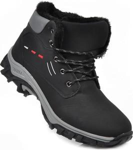 Buty trekkingowe Pantofelek24 w sportowym stylu sznurowane