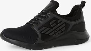 EA7 Emporio Armani - Tenisówki męskie, czarny