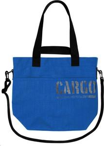 Niebieska torebka CARGO by OWEE duża na ramię w młodzieżowym stylu