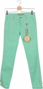 Zielone spodnie dziecięce Trentadue Giri
