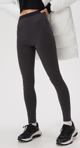 Czarne legginsy Sinsay