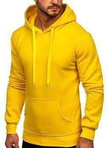 Żółta bluza Denley w młodzieżowym stylu