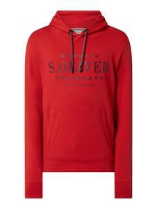 Czerwona bluza S.Oliver Red Label w młodzieżowym stylu z bawełny