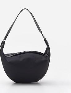 Czarna torebka House matowa na ramię w stylu casual