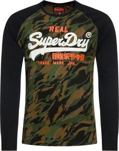 Koszulka z długim rękawem Superdry z długim rękawem