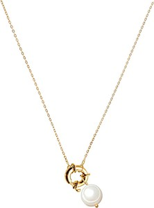 Stag Jewels Buckle Pearl necklace no.2