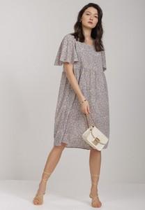 Fioletowa sukienka Renee midi