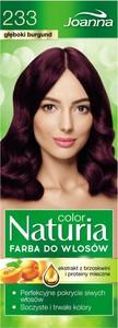 Joanna Naturia Color Farba Do Włosów 233 Głęboki Burgund