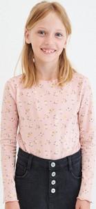 Koszulka dziecięca Reserved w kwiatki