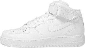 Sneakers buty Nike WMNS Air Force 1 '07 Mid LE white (366731-100)