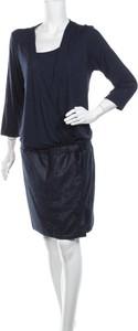 Sukienka Mado Et Les Autres mini z okrągłym dekoltem z długim rękawem
