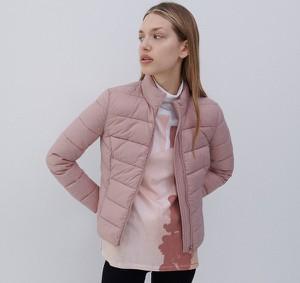 Różowa kurtka Reserved bez kaptura krótka