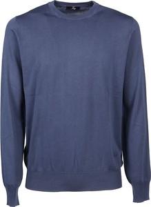 Niebieski sweter Fay w stylu casual