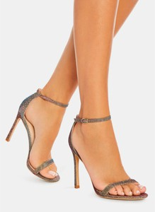 Złote sandały DeeZee