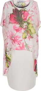 Sukienka Fokus z tkaniny midi w stylu casual