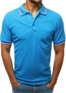 Koszulka polo Dstreet z krótkim rękawem z bawełny w stylu casual