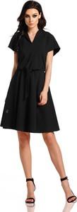 Czarna sukienka Lemoniade w stylu casual z bawełny
