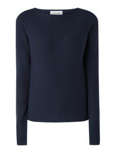 Granatowy sweter Marc O'Polo DENIM w stylu casual