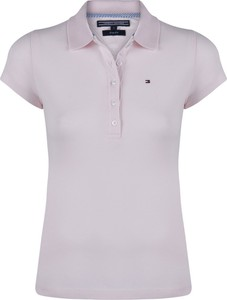 0f433812f6563 koszulka polo tommy hilfiger damska - stylowo i modnie z Allani
